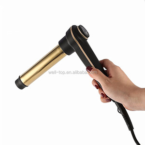 Best Selling Products 2018 in USA Dual Voltage Electric Rotating Hair Curling Iron Wand Roller For Household