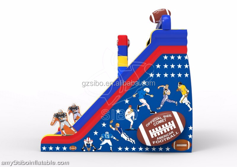 Guangzhou Sibo inflatable soccer game inflatable giant slide for adults soccer games