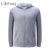 Fashionable comfortable casual hoodies polar fleece sweatshirt with zipper