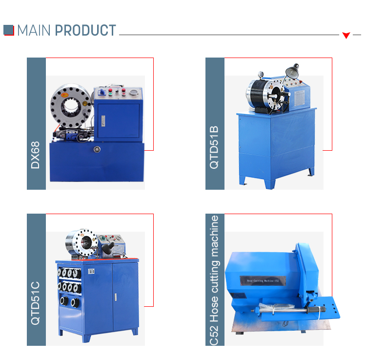 Factory Price Manual Hose Crimping Machine For Sale