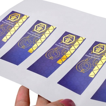Custom pvc sticker label advertising vinyl sticker printing