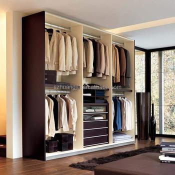 Latest Plywood/Laminated Wooden Bedroom Closet Wood Wardrobe Cabinets  Designs