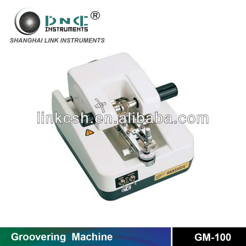 Ophthalmic lens beveling machine GM-100 With Stainless Steel Faceplate