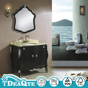 Classic RV Waterproof Bathroom Basin Furniture with Cabinet