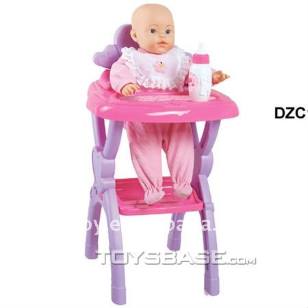 Attirant Plastic High Chair With New Born Baby Doll   Buy New Born Baby Doll,Plastic High  Chair,Real Doll Product On Alibaba.com