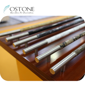 Professional Manufacturer Natural Stone Stainless Steel Towel Rail Towel Bar