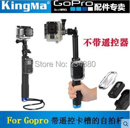 GoPro Remote Pole 33-99cm Telescopic Pole Aluminum Handheld Monopod Tripod With