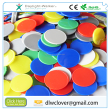 EN71 Promotional cheapest Custom PS ABS Embossed Plastic coin, plastic custom chip, plastic token