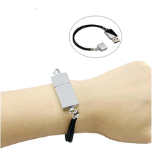 Fashion Design Gift Metal Bracelet Usb 2.0 Flash Drive Wrist Band Pendrive 4Gb 8Gb 16Gb 32Gb 64Gb Pen Drive Memory Stick U Disk