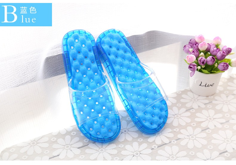 Beixiduo Jelly Shoes For Men Candy Fresh Slippers Lady Hollow Out ...