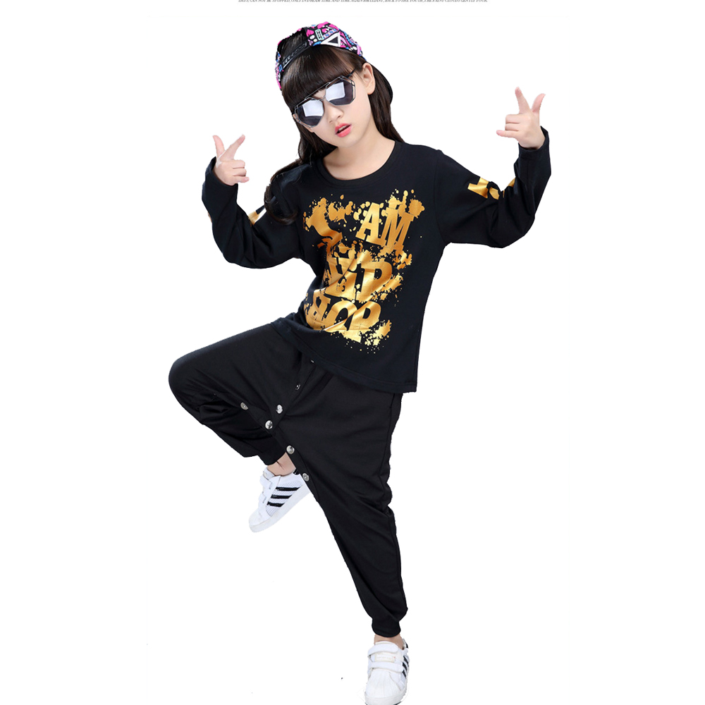 Simple old school modern hip hop costume