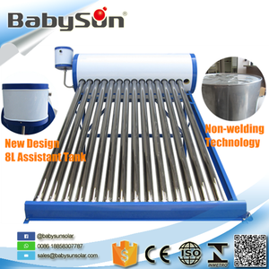 New product 150L compact portable solar water heater for hard water