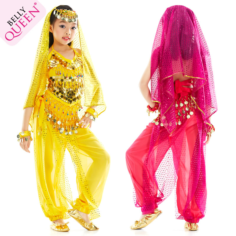4ee71631b07 Get Quotations · 2015 brand hot sell Belly Dance Costume scrunchy Indian  Dress Bellydance Dress Children s Belly Dancing Costume