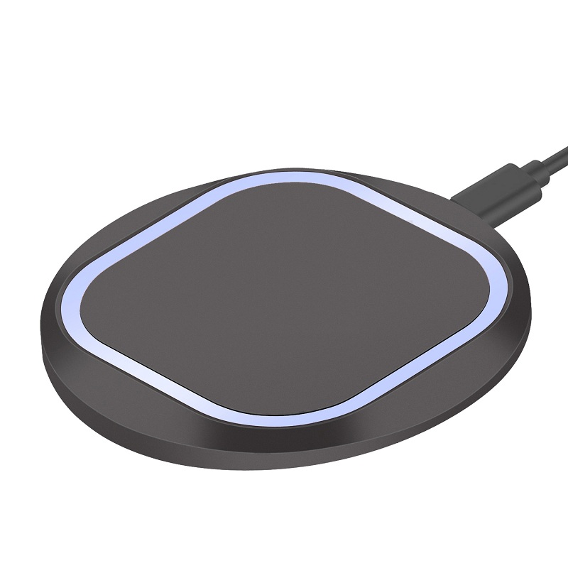 यूनिवर्सल तेजी से क्यूसी 2.0 डेस्क एम्बेडेड वायरलेस चार्जर 10 w तेजी से टेबल वायरलेस चार्जर