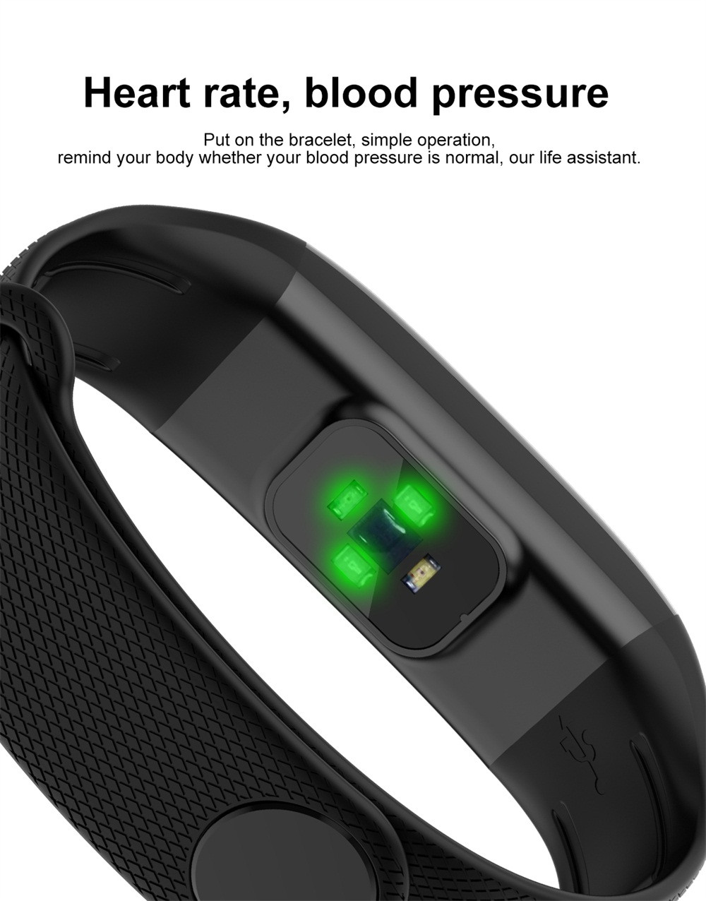 Fashion Color Screen Smart Watch Men Women Blood PressureHeart Rate Monitor Pedometer Bracelet Montre homme Drop Shopping Wd4