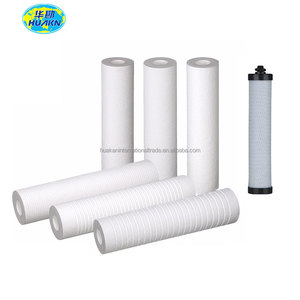 "Huakan 10"" PP melt blown spun cartridge filter 10 micron filter"
