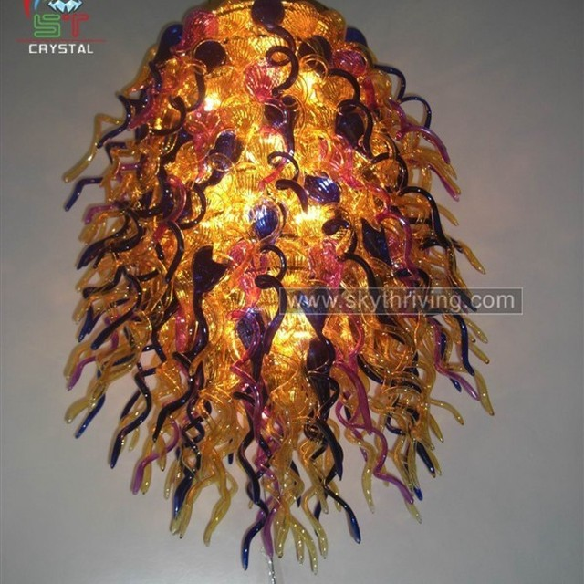 Multi colored chandelier source quality multi colored chandelier multi colored glass chandelier aloadofball Images