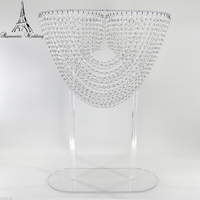 Sales wave acrylic centers decoration wedding event & party table supplies