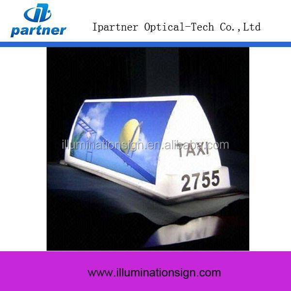 Factory Price Custom Taxi Light Box Wholesale