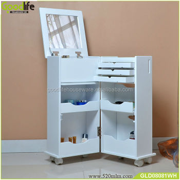 Charmant Wooden Makeup Cabinet For Treasures Chest+of+drawers