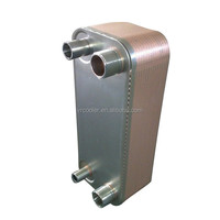 Compact Brazed heat exchanger for nuclear power plant