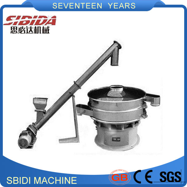 Food powder screw conveyor