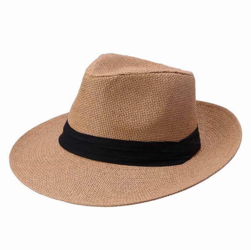 81f5cea9b1a 2015 Women Men Ultrafino Monte Cristo Straw Fedora Panama Hat Women Summer Straw  Hat  PO048