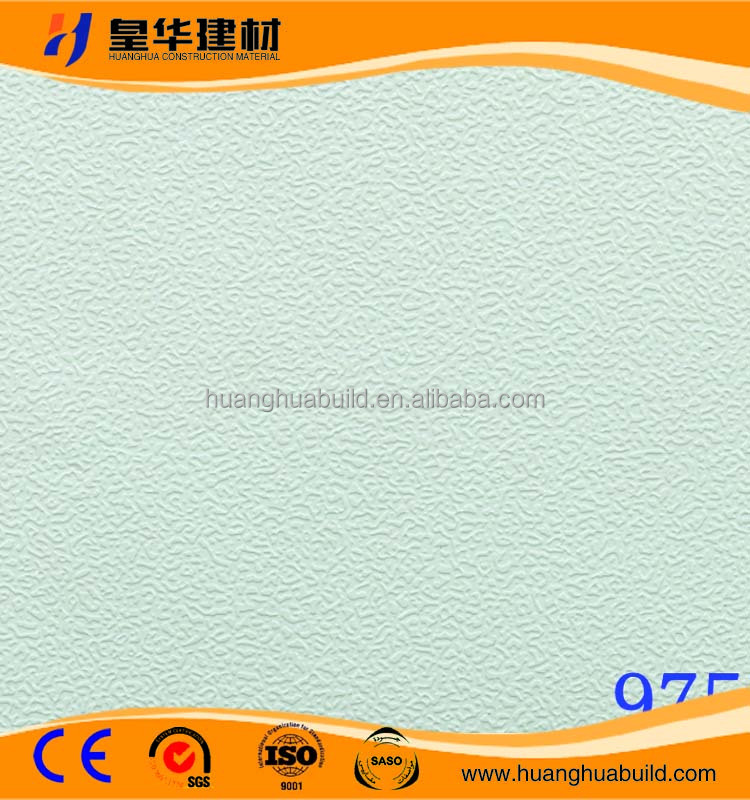 Linyi Gypsum Ceiling Board / PVC Gypsum Ceiling Tiles / Gypsum Board