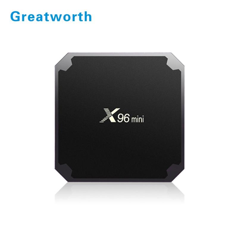 Cheapest X96 MINI Android 7.1.2 TV Box 2GB RAM 16GB ROM Amlogic S905W Smart TV BOX Android 7.0 Mini X96 S905W фото