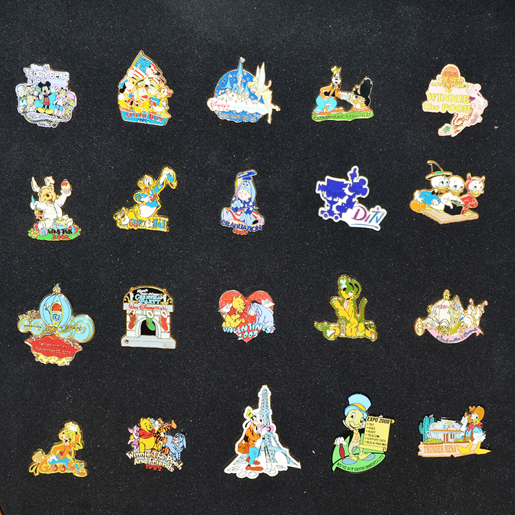 Hot selling custom high quality enamel lapel pins