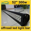 "dc 10-30v led off road driving light bar 300w 52"" auto tuning accessories"
