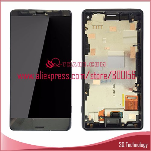 Mobile Phone for Sony for Xperia Compact Z3 Mini LCD Screen and Touch Digitizer Assembly with black Frame