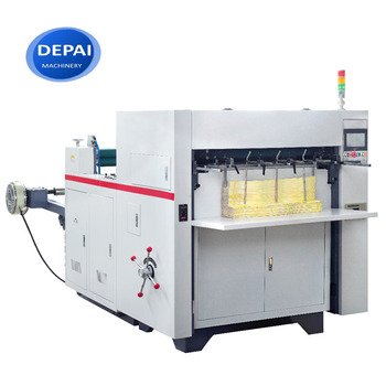 DEPAI 850mm Cheap Price Paper Cup Die Cutting and Plate Making Machine
