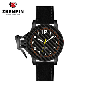 high quality dive women's carbon fiber titanium watch