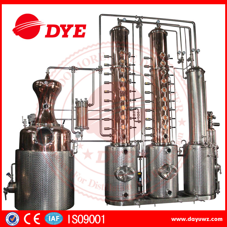 Gin Whiskey Vodka fruit Brandy distillery distiller alcohol distillation equipment for sale