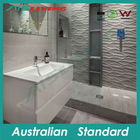 Austalian Standard High gloss lacquer bathroom design