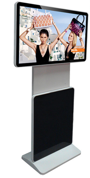 Shenzhen 55 Inch Indoor Floor Stand Touch Screen Led Commercial ...