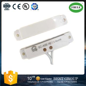 Fbm5c 40b window and door sensor magnetic door 12v contact for 12v magnetic door switch