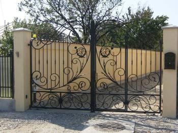 Wrought Iron Folding Gatestainless Steel Main Gate Design For Homes