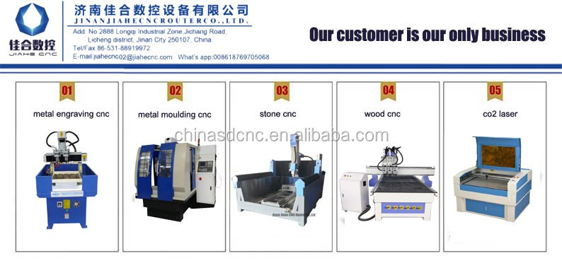 Best cost performance 400*500mm steel cnc moulding machine