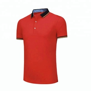 Free sample 2018 Hot sell 200 grams 65 cotton 35 polyester polo shirt supplier philippines