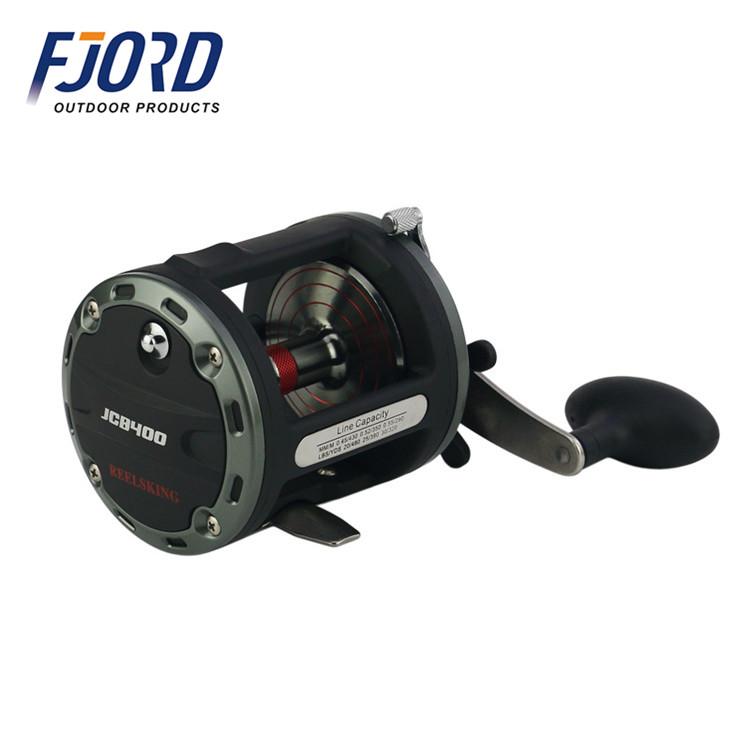 FJORD Stock deep sea cnc baitcasting fishing reel, Customized