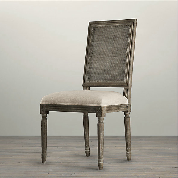 European And American Rural Furniture Desk Chair Solid