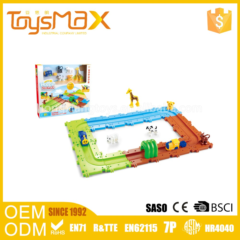 New Technology Cheapest Assemblage Light Toy Train Track