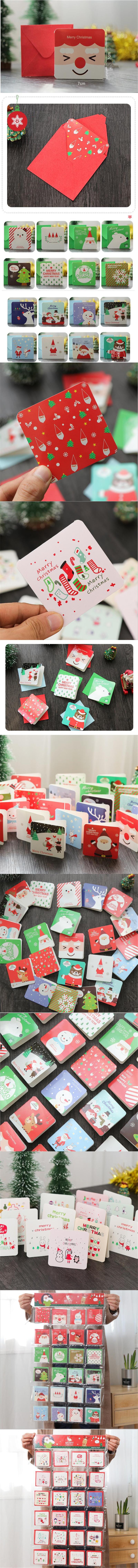 Diy Diseño Elegante De Felicitación De Navidad Tarjetas De Invitación Gracias Deseo De Cumpleaños Tarjetas Con Sobres Para Festival De Año Nuevo Buy