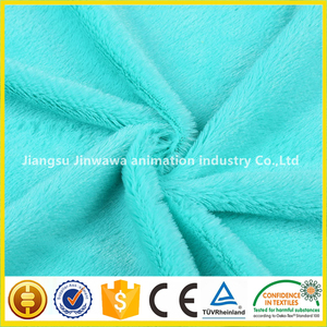 china manufactory print supersoft plush fleece fabric with good price