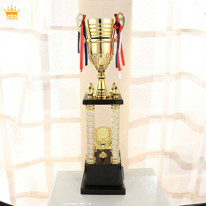 Modern sports metal large trophy cup