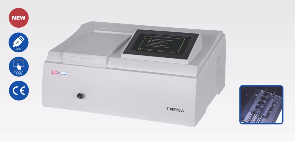 Hot Sales 7 inch Touch-screen Laboratory Novel Series UV-VIS Spectrophotometer