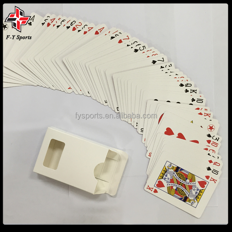 high quality casino black core paper poker cards playing cards paper cards with anti-fake mark