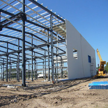 Cheap modern prefab stable structure heavy gauge steel frame buildings in Africa